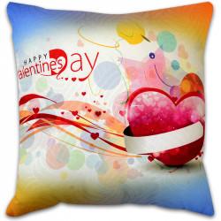 Пухкава декоративна възглавница ''Happy Valentines Day''