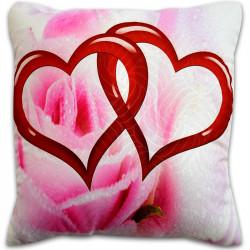 Пухкава декоративна възглавница ''Heart Valentines Day''