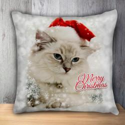 Пухкава декоративна възглавница CAT