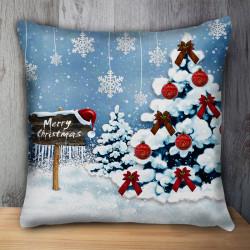 Пухкава декоративна възглавница SHOW CHRISTMAS