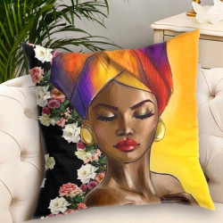 3D пухкава декоративна възглавничка Флора