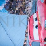 3D олекотена завивка с мек плюш ''Cars''
