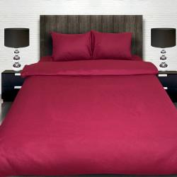 Комплект от винено луксозно спално бельо
