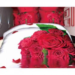 3D луксозен спален комплект ROSE