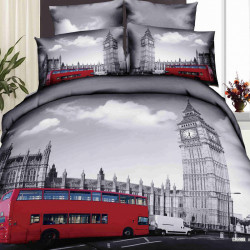 3D луксозен спален комплект Metro