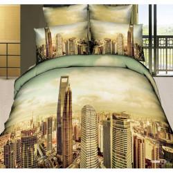 3D луксозен спален комплект CITY