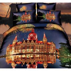3D луксозен спален комплект GOLD CITY