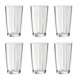 Комплект 6 бр. Чаши за вода - Bormioli Rocco Pulsar - 465мл.