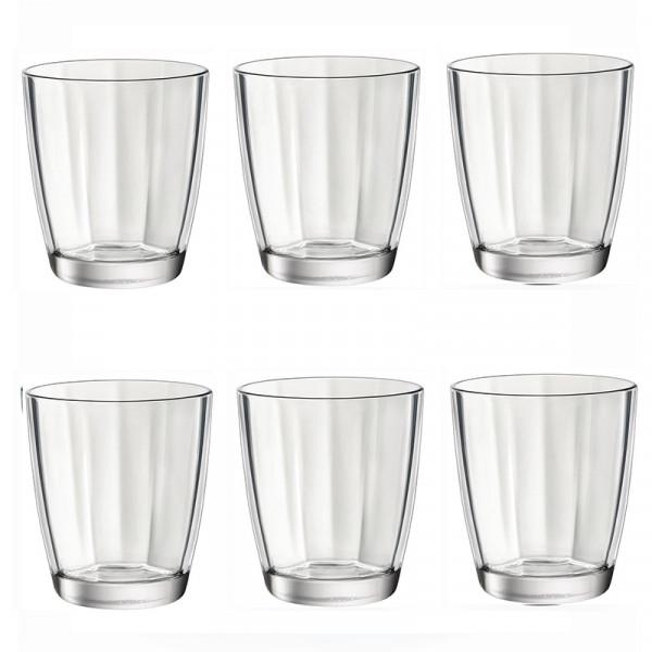 Комплект 6 бр. Чаши за уиски - Bormioli Rocco Pulsar - 390мл.