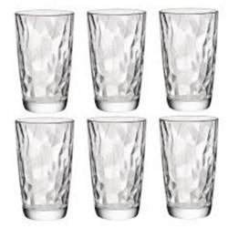 Комплект 6 бр. Чаши за вода - Bormioli Rocco Diamond - 470мл.