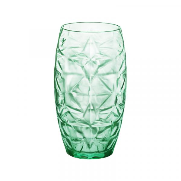Комплект 6 бр. чаши за безалкохолно - Bormioli Rocco Oriente зелен - 470мл.