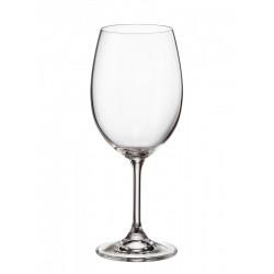 Комплект 6 броя кристални чаши за вино 450 мл Sterna