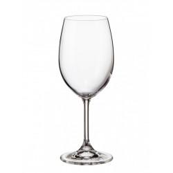 Комлект 6 броя кристални чаши за вино 350 мл Sterna
