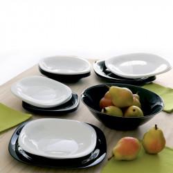 Сервиз за хранене 19 елемента Luminarc Black & White