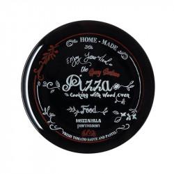 Чиния за пица 32 см. Friends Time Black (Decor)