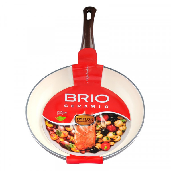 Тиган Brio Ceramic 24см