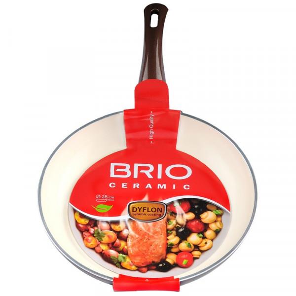 Тиган Brio Ceramic 28см