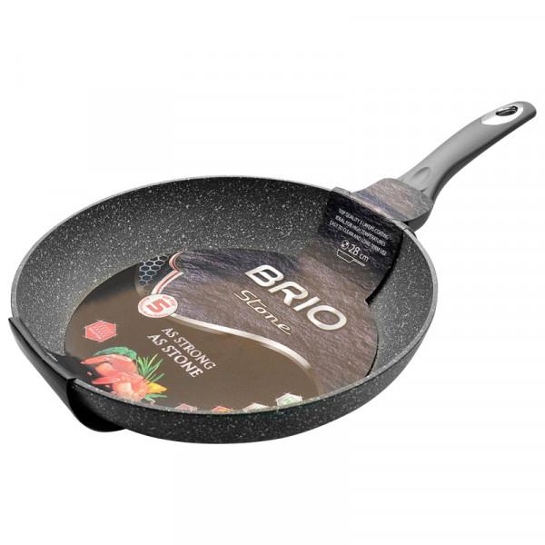 Индукционен тиган Brio Stone 28см